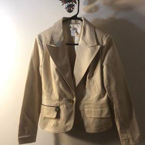 ☘️cach'e jacket 95% cotton